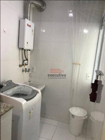 Apartamento com 1 dormitório para alugar, 57 m² por R$ 1.850,00/mês - Jardim das Colinas - - Foto 3