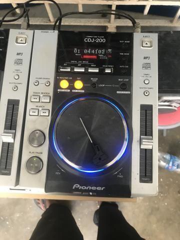 Cdj 200 o par + mixer separado em outra venda - Foto 3