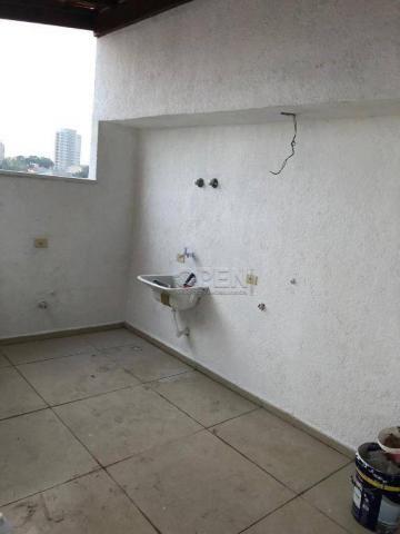 Cobertura com 2 dormitórios à venda, 100 m² por R$ 445.000,00 - Campestre - Santo André/SP - Foto 2