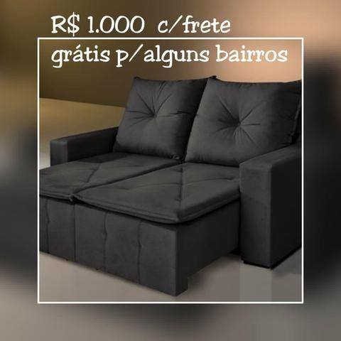 SOFÁ Retratil e reclinável Bahia/ Frete Grátis para maioria dos bairros. - Foto 3