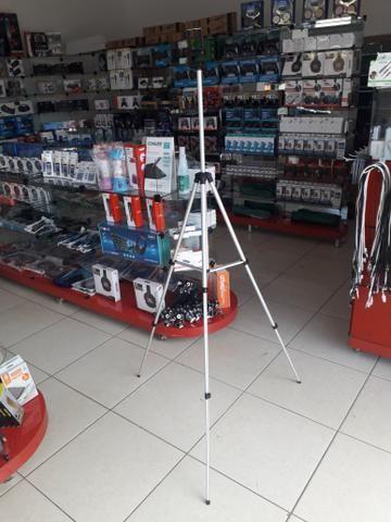 Promoção Tripé semi profissional 1.50cm com suporte celular + bolsa