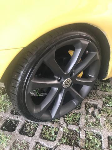 Vendo ou troco roda aro 17 - Foto 2