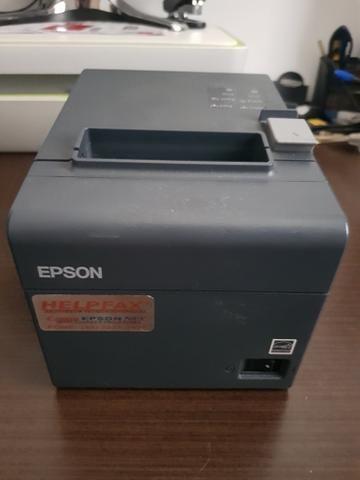 Impressora cupom fiscal Epson TM-T20 - Foto 2