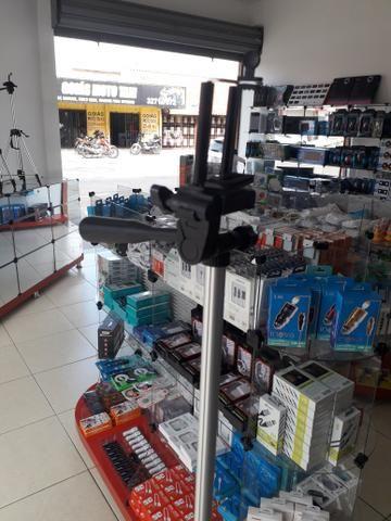 Promoção Tripé semi profissional 1.50cm com suporte celular + bolsa - Foto 2
