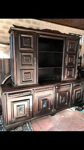Armário antigo de madeira - Foto 2