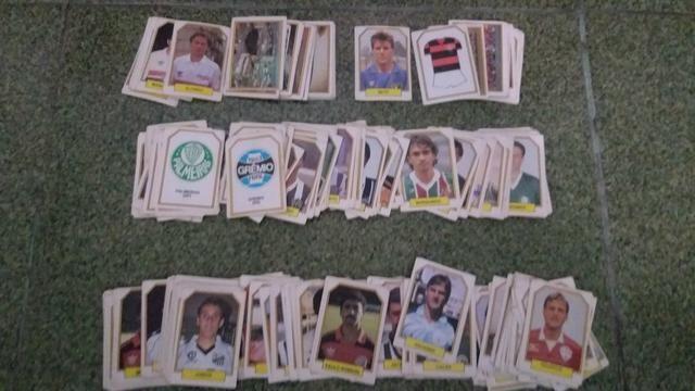 Lote de figurinhas do Campeonato Brasileiro de 1990 - Foto 2