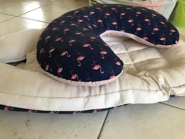 Almofada de amamentação e ninho - Foto 2