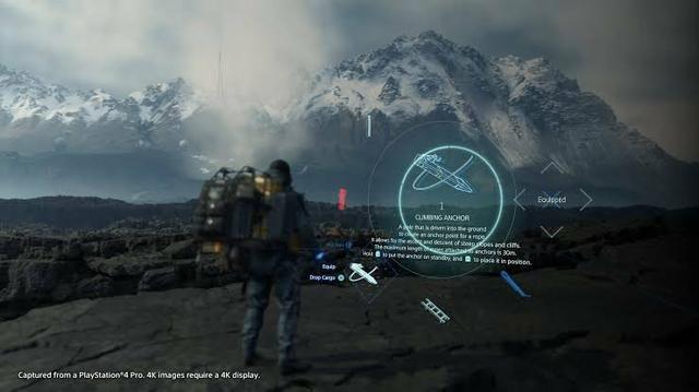 Death stranding PS4 dublado português mídia física - Foto 4