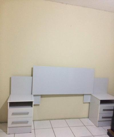 Cabeceira de cama, madeira - Foto 2
