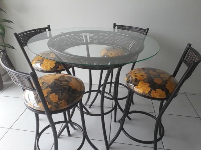 Mesa com banquetas * 5 x sem JUROS - Foto 3