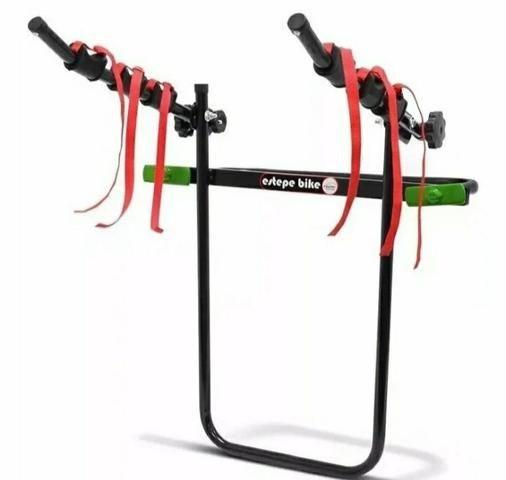 Suporte Transbike Estepe Plus 3 Bikes Cross Fox Ecosport