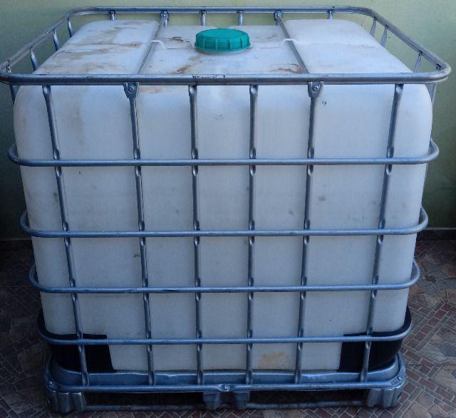Container 1000 Litros Bombona Reservatório 1000 litros - Foto 3
