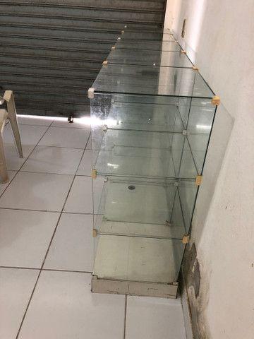 Balcão de vidro para estabelecimento - Foto 2