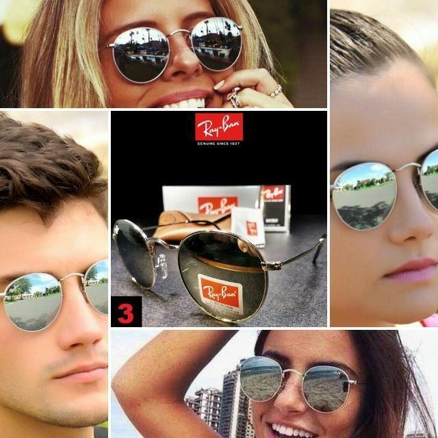 Óculos de Sol Rayban RB3447 Round com Proteção UV - Foto 3