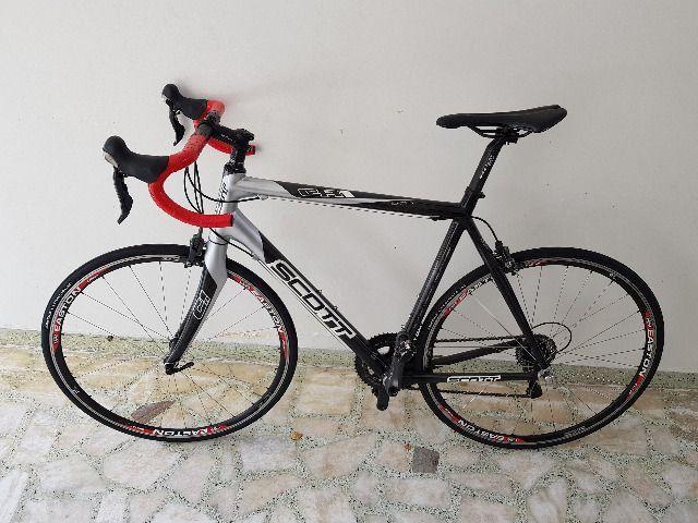 Bike Scott Speed Road Scott CR1 Pro Full Carbon tam 58 - perfeita - AC troca por mtb 29