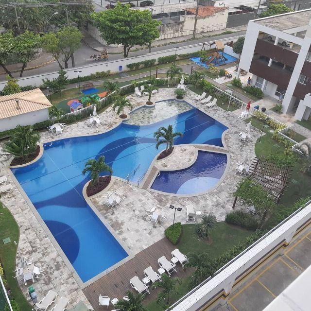 Alugo apartamento 89 metros, varanda gourmet, lazer completo no Riviera - Foto 6