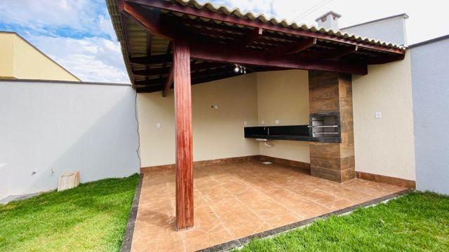 Casa Nova, Linda, Acabamento Impecável - 03Qtos, Quintal + Ampla Área Gourmet!! - Foto 12