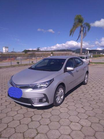 Corolla XEI 2017/2018 - 27801 KM rodado - Único Dono