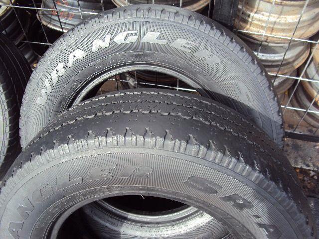 Pneus 16 de camioneta 235\70\16 -80 reais - Foto 5