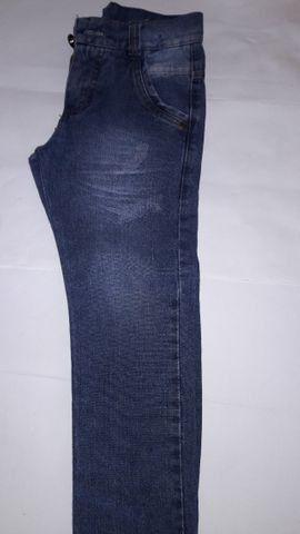 Calça Jeans Infantil Masculina Marca Mox - tam 6 semi nova excelente estado - Foto 5