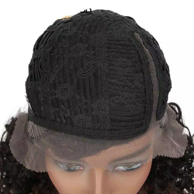 Lace Front Wig CABELO HUMANO NOVA - Foto 6