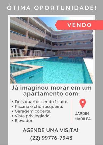 Jardim Mariléia - Apartamento 2 quartos sendo 1 suíte, prédio com piscina e elevador - Foto 13