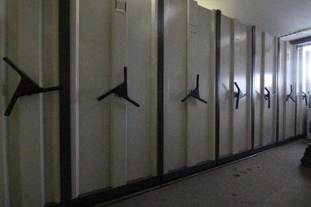 Arquivo Deslizante / 8 módulos / em Metal Cinza 210 cm x 576 cm x 213 cm - Foto 4