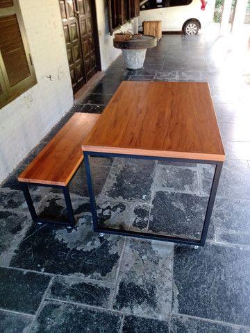 Fabricação de Mesa, Escrivaninha, Bancada Estilo Industrial