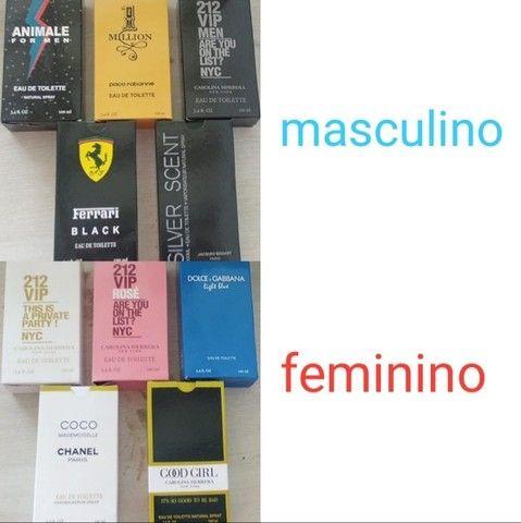 10 perfumes a base de oleo importados de 100 ml lacrados  - Foto 3