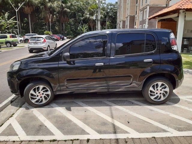 Fiat Uno Attractive flex 1.0 de Garagem Financio entrada + parcelas  - Foto 6