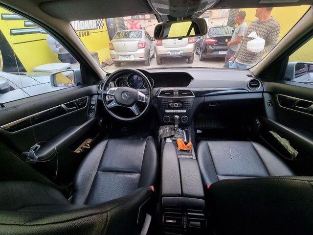 Mercedes C 180 impecável Ac.moto carro Parcelo! - Foto 5