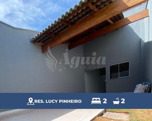 Casa com 2 quartos no Res. Lucy Pinheiro, Região Leste de Goiânia