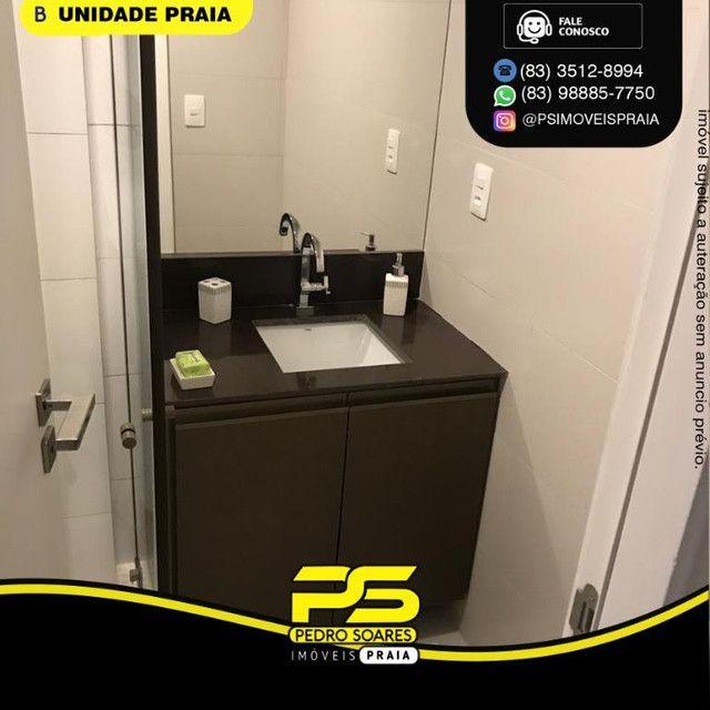 Apartamento com 2 dormitórios para alugar, 50 m² por R$ 3.000,00/mês - Tambaú - João Pesso - Foto 6