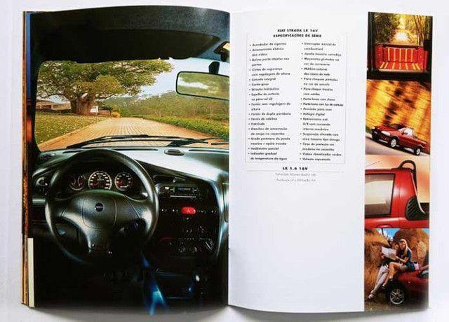 Fiat Strada LX, Trekking e Working - catálogo, folder, brochura - ótimo estado - Foto 5