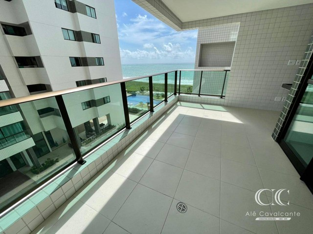 Apartamento com 3 dormitórios à venda, 114 m² por R$ 950.000,00 - Guaxuma - Maceió/AL - Foto 2