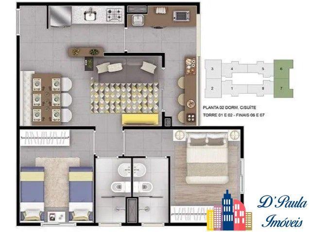 Apartamento cond Parque Central Reserva, a melhor planta da região. - Foto 13