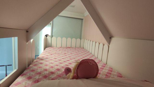Móvel infantil cama com escrivaninha - Foto 5