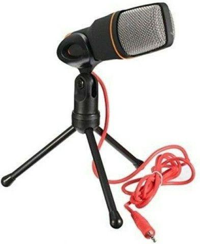 Microfone Condensador Profissional Omnidirecional SF-666 - Foto 3