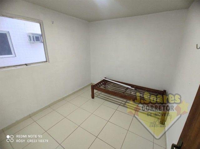 Bessa, 3 quartos, DCE, suíte, 95m², R$ 1.500 C/Cond, Aluguel, Apartamento, João Pessoa - Foto 8
