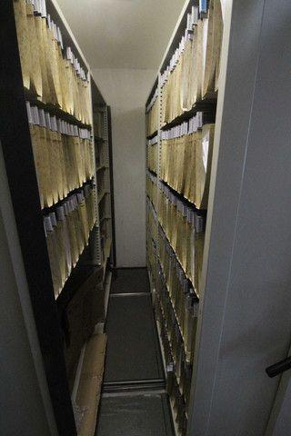 Arquivo Deslizante / 8 módulos / em Metal Cinza 210 cm x 576 cm x 213 cm - Foto 3
