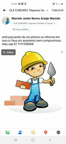 serviço de obras e reforma pintura hidráulica e elétrica