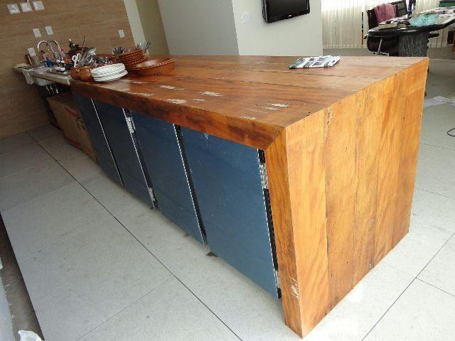 Bancadas de madeira valores variados - Foto 6
