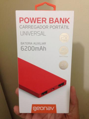 Geonav Power Bank Carregador Portátil