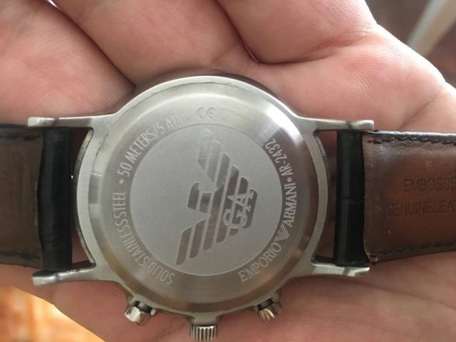 Relógio Empório Armani 2432