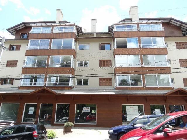 Apartamento à venda, 120 m² por r$ 1.244.000,00 - centro - gramado/rs