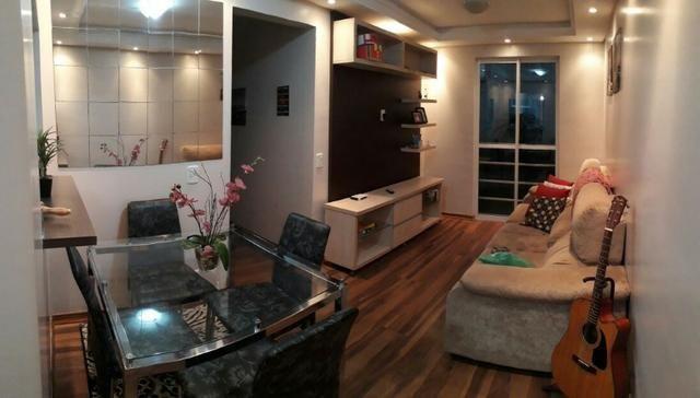 Apartamento na Fazendinha, área central, reformado e semimobiliado 189.000. Financia - Foto 2