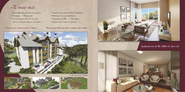 Apartamento com 2 dormitórios à venda, 86 m² por r$ 873.690,41 - bavária - gramado/rs - Foto 8