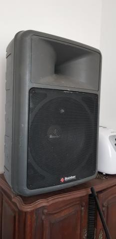 Caixa de som 2 mesa de som 1 e amplificador - Foto 2