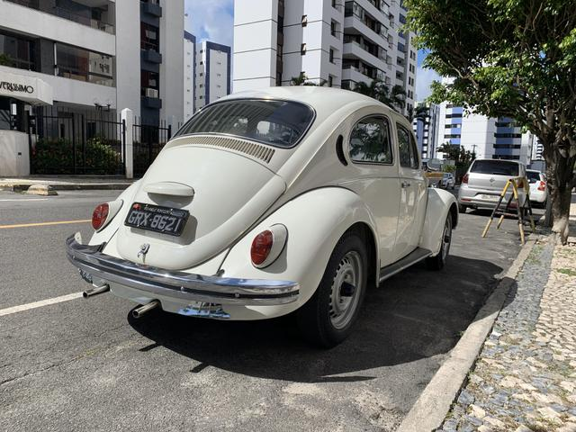 Fusca 1300 77/77 placa preta - Foto 8