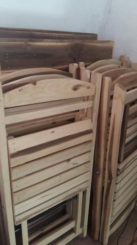 Cadeira de madeira - Foto 3